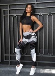 Lovebitebd Women Elastic Printing Fitness Legging For Women
