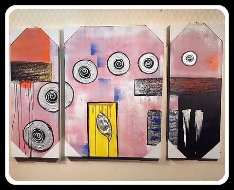 3 pieces Painting Set/Cir001