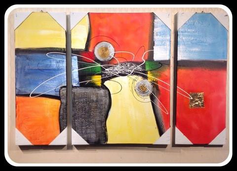 3 pieces Painting Set/Cir002