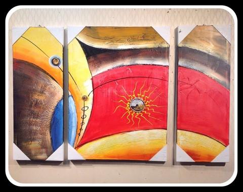3 pieces Painting Set/Cir003