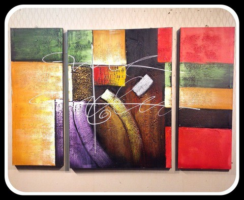 3 pieces Painting Set/Cir004