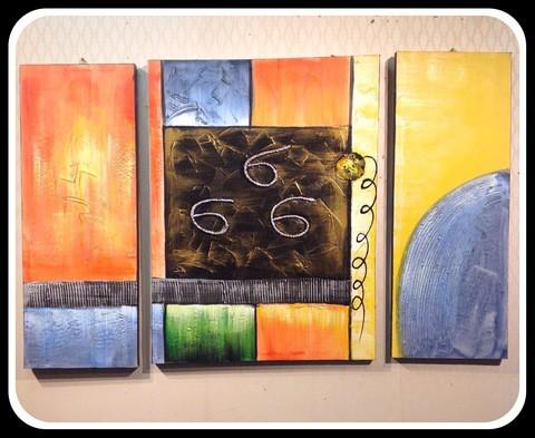 3 pieces Painting Set/Cir005