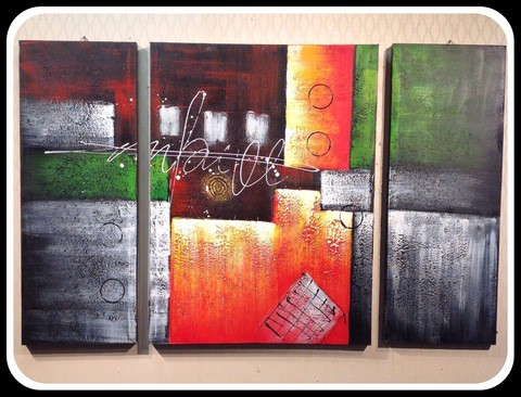 3 pieces Painting Set/Cir006