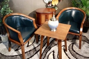 Coffee Chair Set /602/Blue