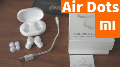 Xiaomi Mi AirDots true Wireless In-ear Earbuds - WHITE