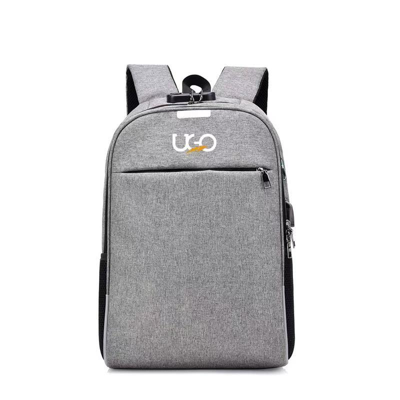 UGO - Gray Frosted Fabrics Back Pack for Men