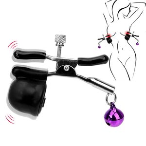 Lovebitebd 2pcs Nipple Clamps Vibrating Clip Sex Toy For Women