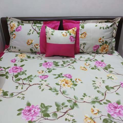 5 pecs unique ortha bedsheet