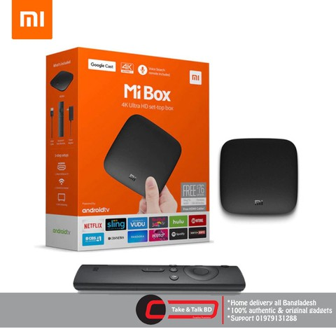 Mi Tv Box S 4k HDR 2019 (Global Version)