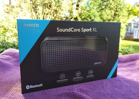 Anker SoundCore Sport XL Black (18 Months Official Warranty)