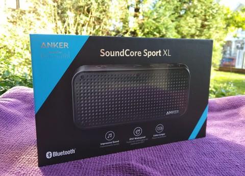 Anker SoundCore Sport XL Black (18 Months Official Warranty)