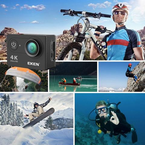 EKEN H9R Action Camera + Remote + All Accessories