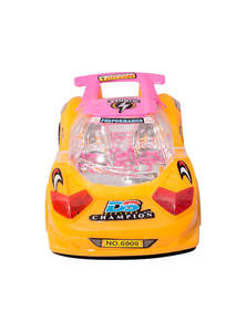Yellow & Rose Pink Toy Tarzan Car