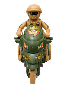 Green Toy Army Sergeant Honda