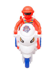 Red, White and Blue Toy Sergeant Honda