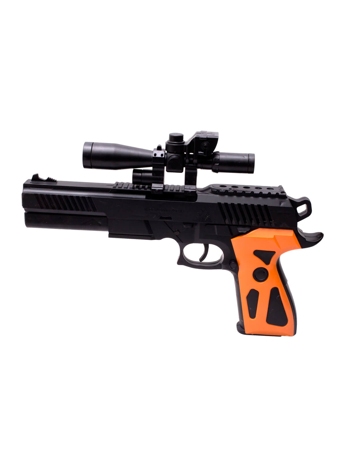 Black and Orange Combat Toy Gun