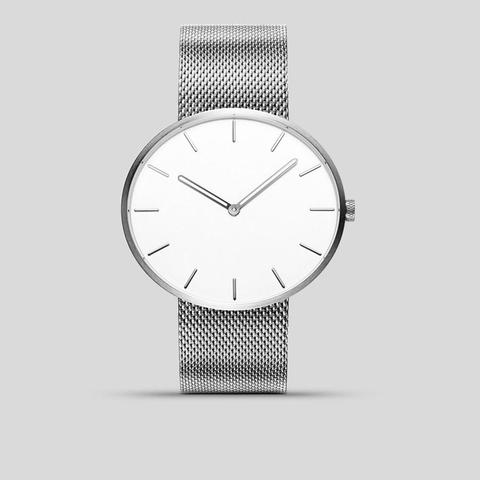Xiaomi TwentySeventeen Luminous Waterproof Fashion Quartz Watch-Silver