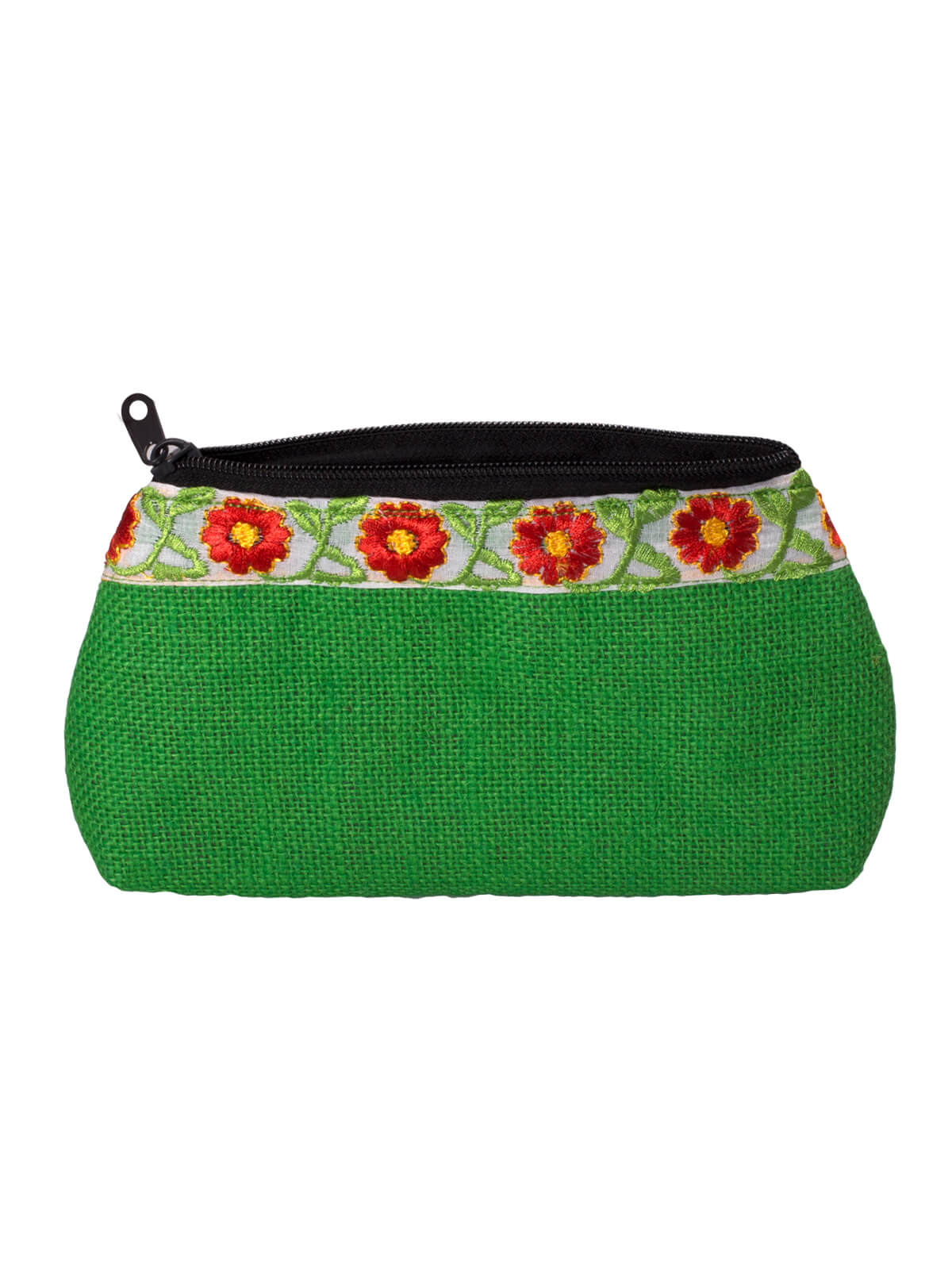 Green Jute Ladies Purse
