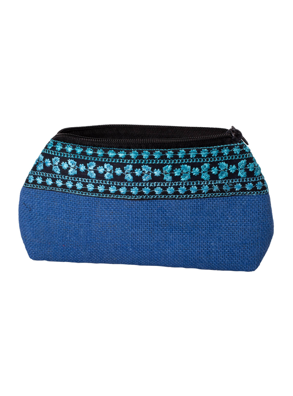 Blue Jute Ladies Purse