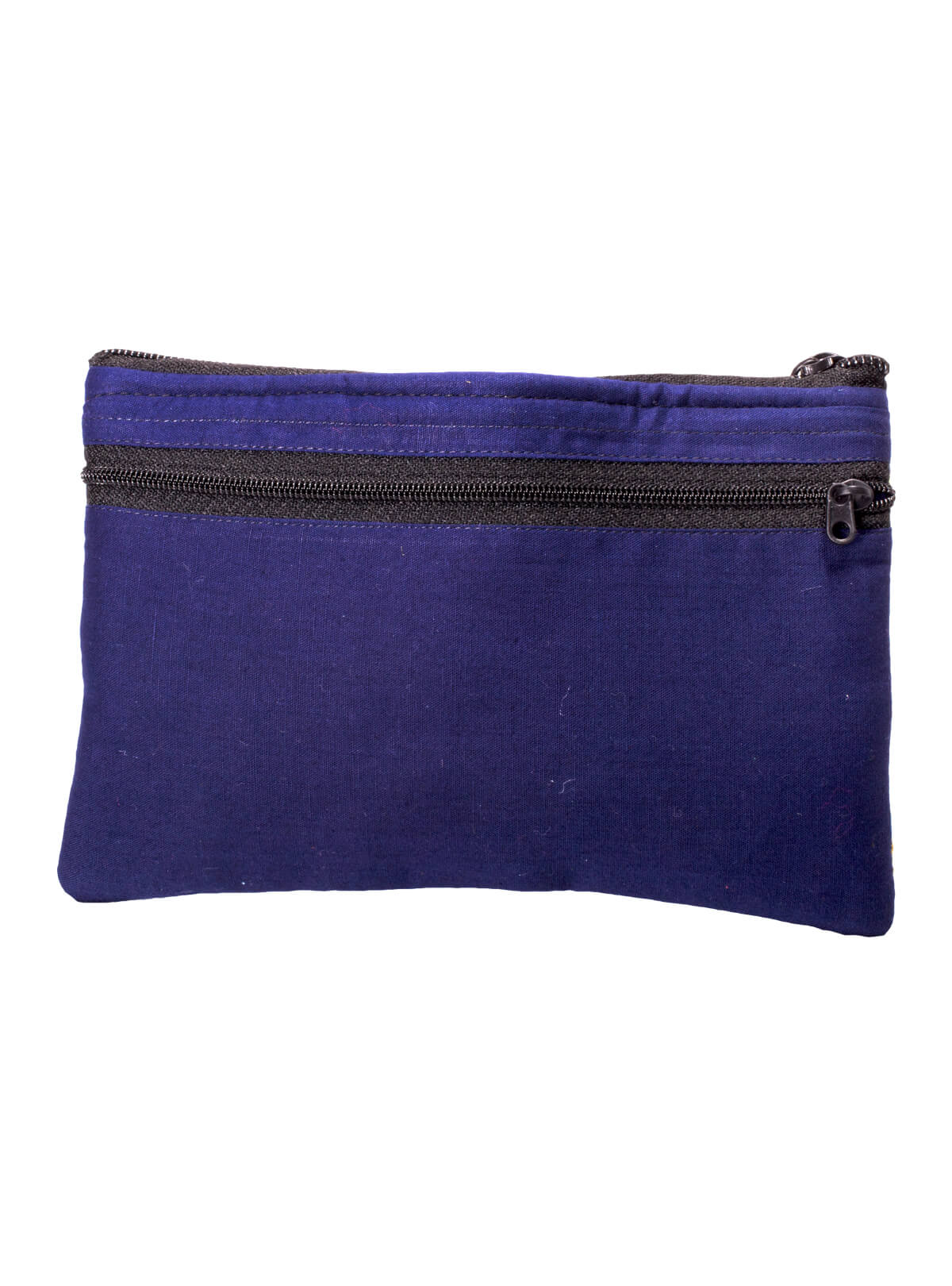 Blue Cotton Ladies Purse