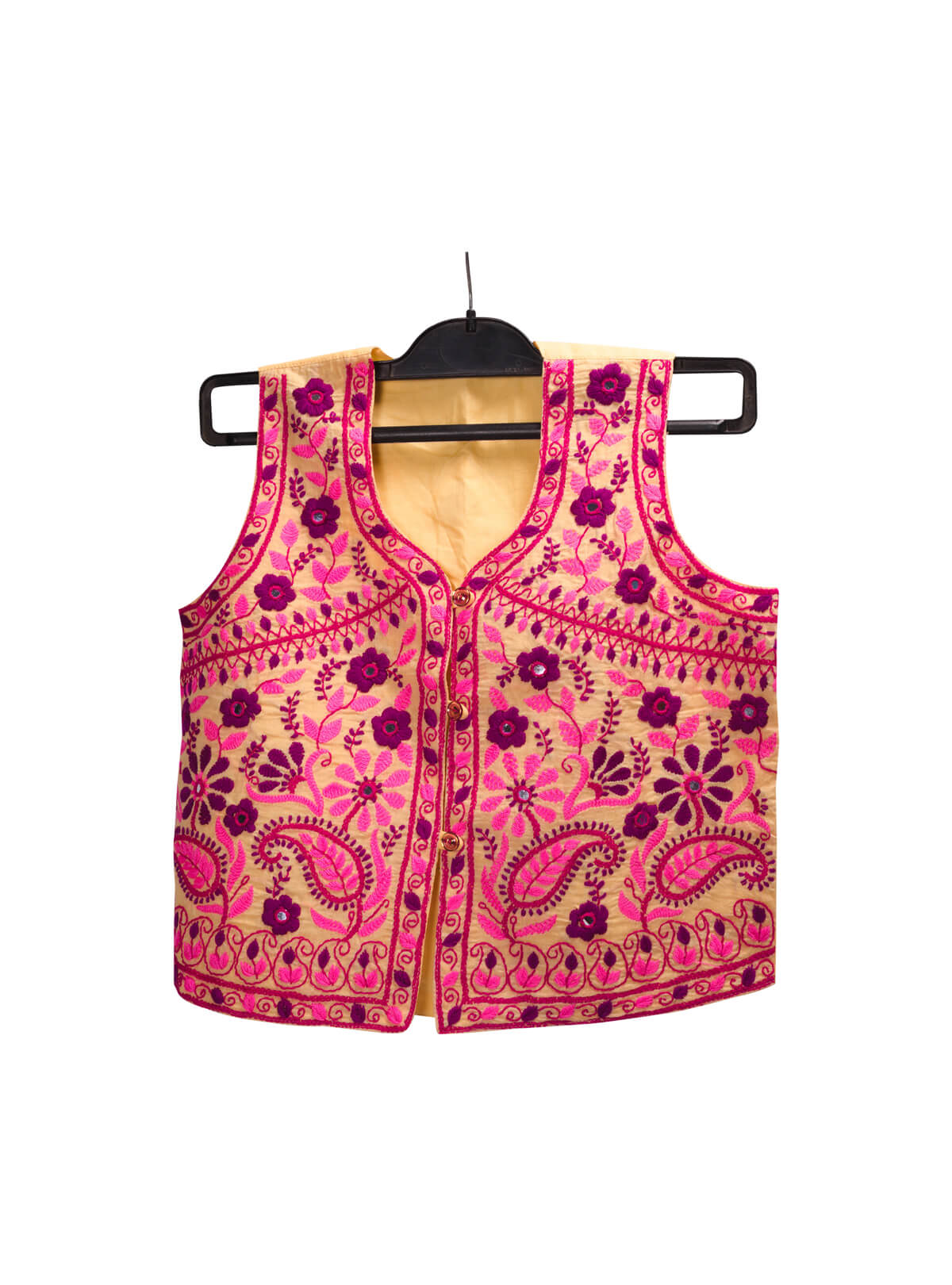 Harvest Gold Cotton Ladies Koti