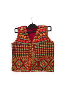 Red Cotton Ladies Koti