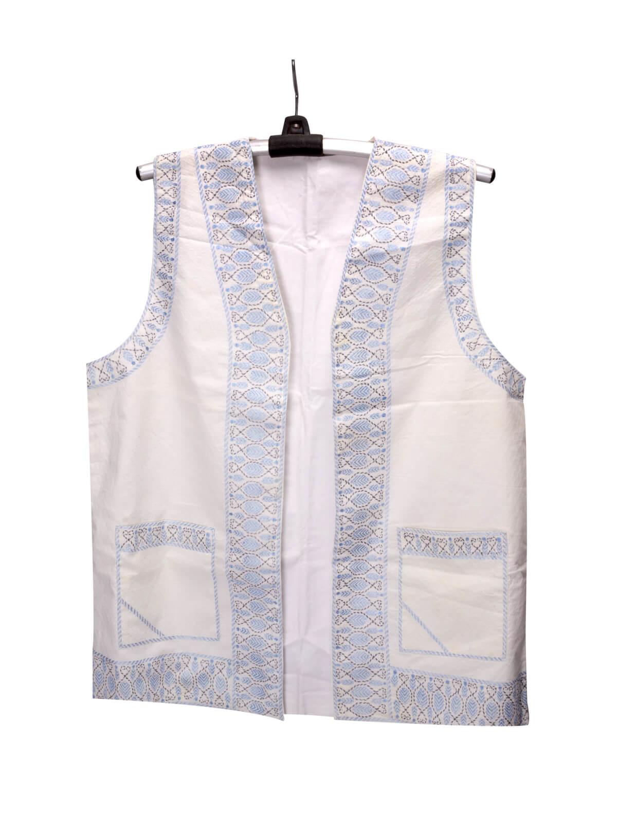 White Cotton Gents Koti