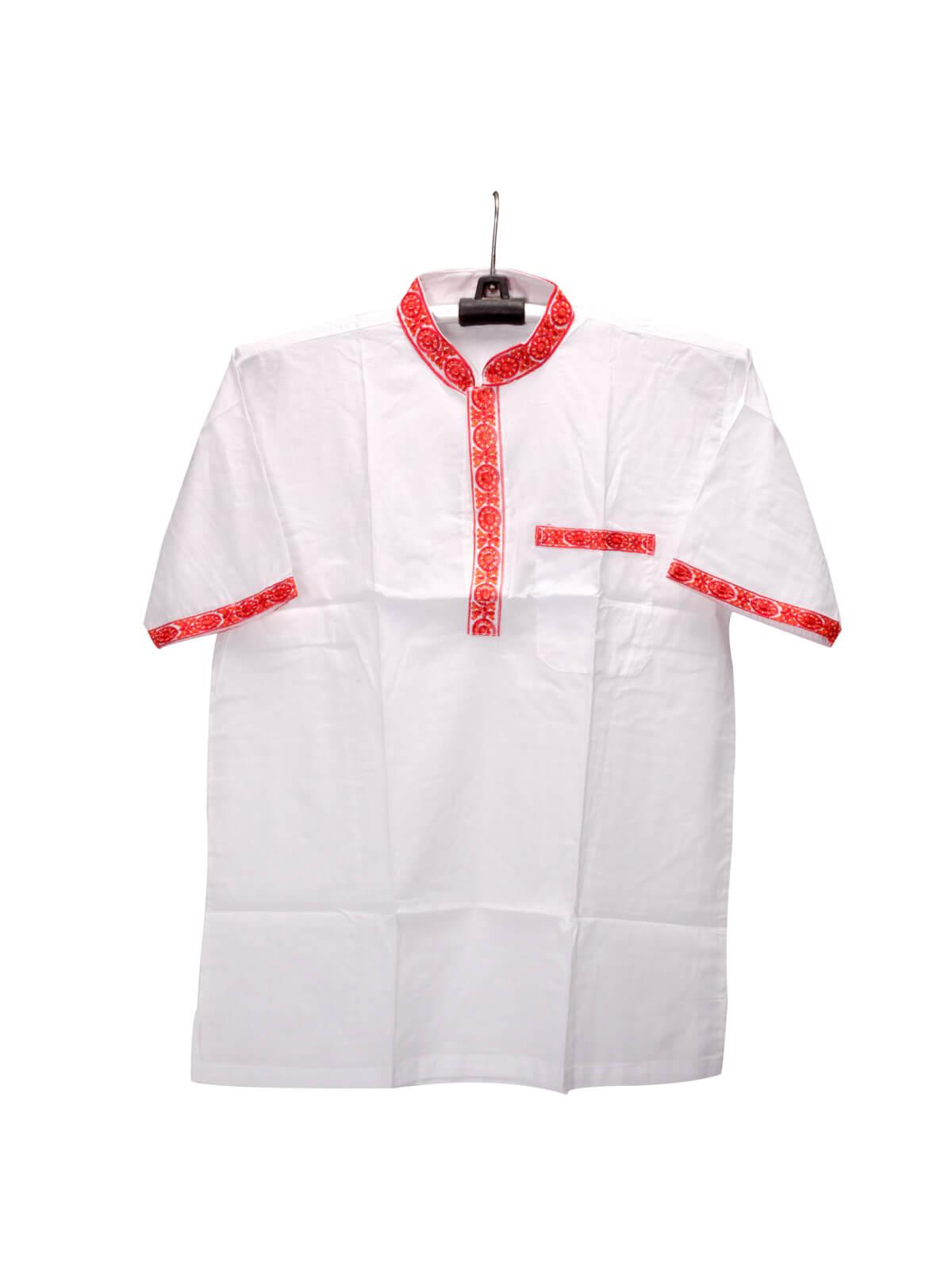 White Cotton Gents Fotua