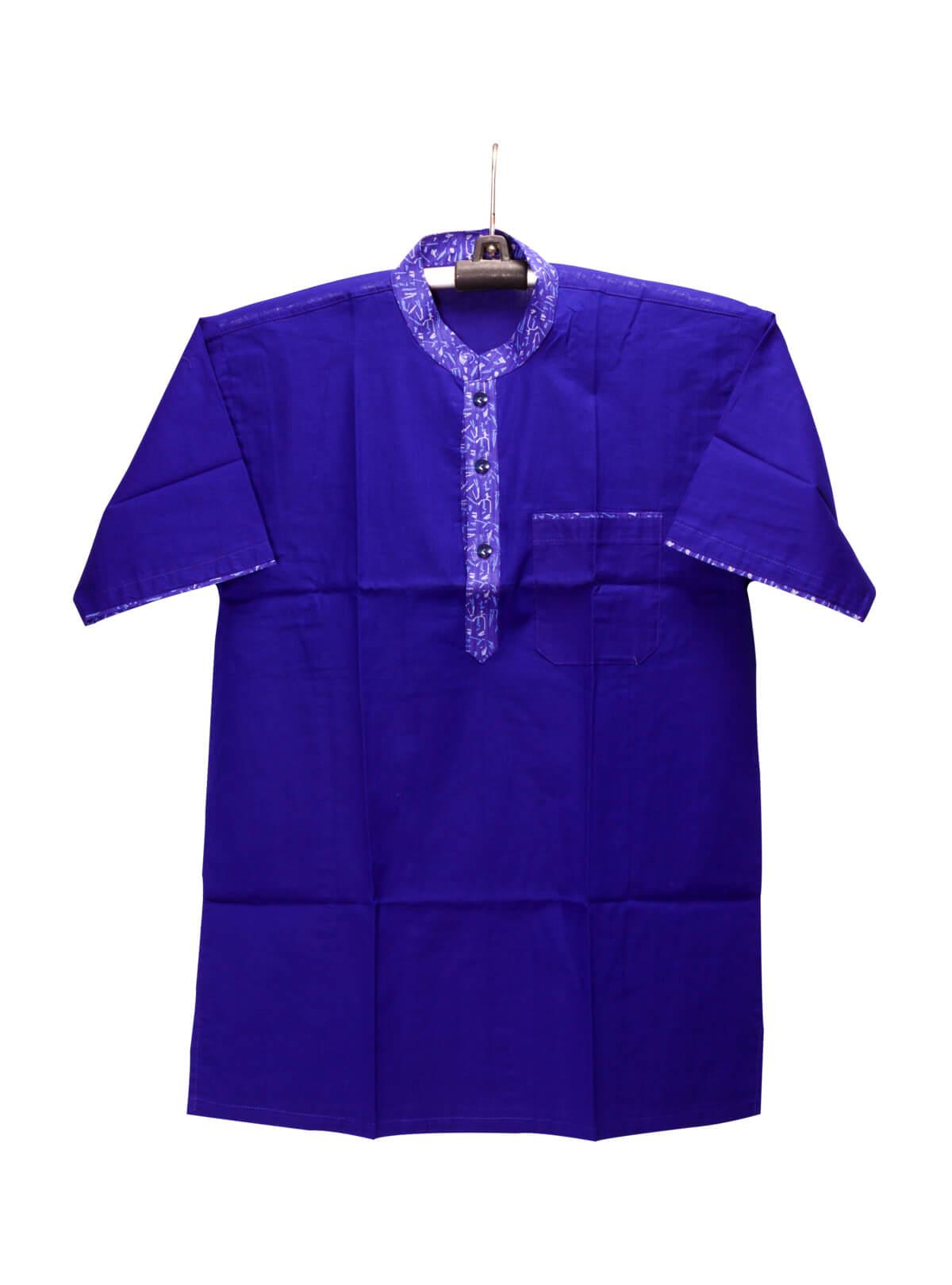 Blue Cotton Gents Fotua