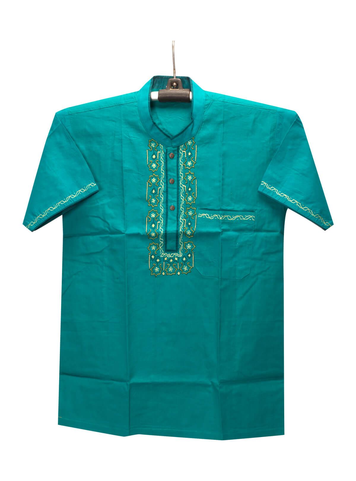 Persian Cotton Green Gents Fotua