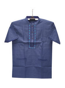 Chambray Blue Cotton Gents Fotua