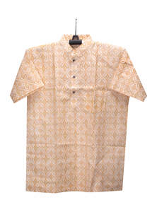 Brandy Orange Cotton Gents Fotua