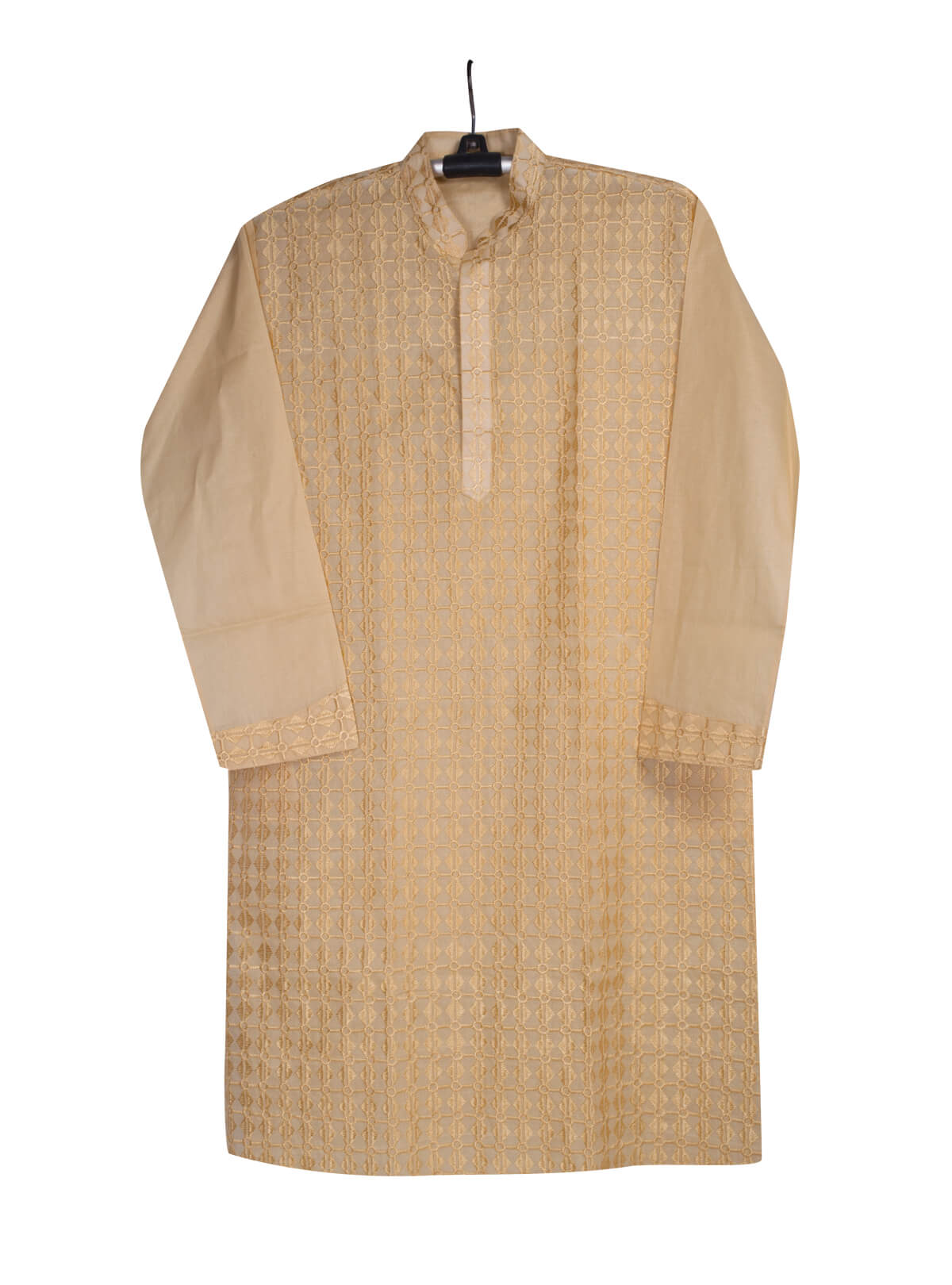 Rodeo Dust Brown Cotton Gents Panjabi