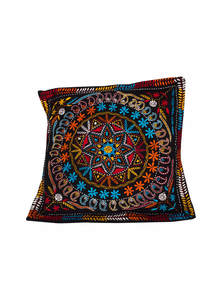 Black Cotton Cushion Covers