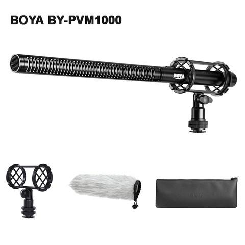 BOYA BY-PVM1000 Condenser Shotgun Microphone