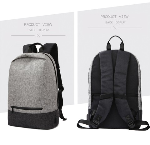 Tweet Bird Simple SchoolBag With USB Charging