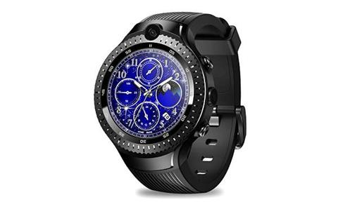 Zeblaze THOR 4 Dual 4GLTE Video Call 5.0MP+5.0MP Dual Camera Android Smart Watch---Black