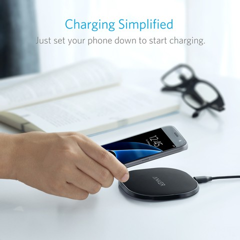 ANKER PowerPort Wireless 10Pad The 10W Fast Wireless Charger (18 Months Official Warranty)