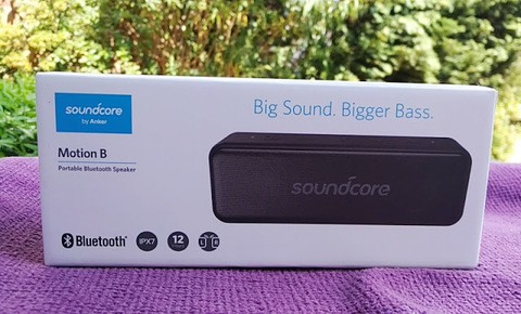 Anker Soundcore Motion B Portable Bluetooth Speaker (18 Months Official Warranty)
