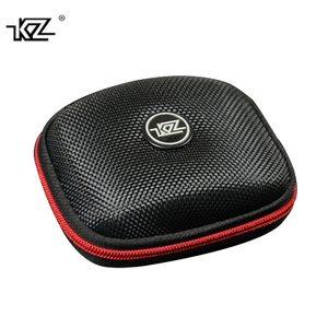 KZ Earphone Case Nylon Zipper Headphones Hard Case