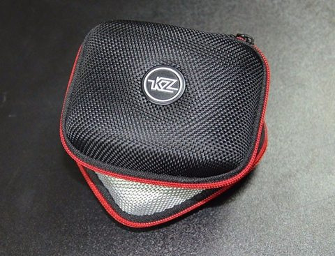 KZ Earphone Case Nylon Zipper Headphones Hard Case