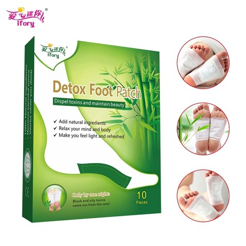 Detox Foot Patch - পায়ের দূষন মুক্তকরন।