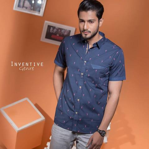 Short Sleeve Shirt IG S 133