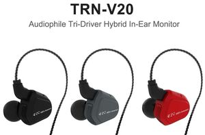 TRN V20 1DD+1BA Hybrid In Ear Earphone