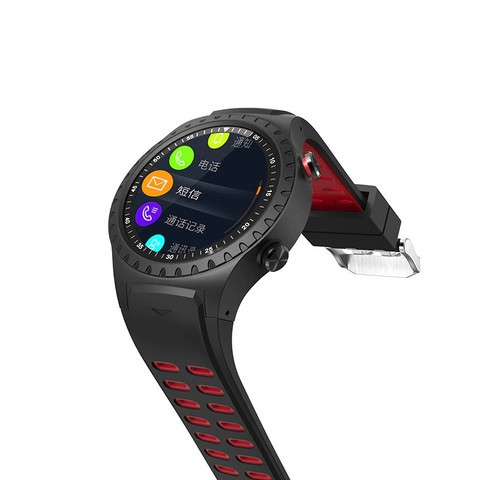 LEMFO M1 2G Smartwatch Phone - Black