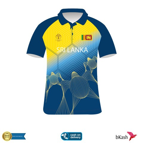Sri Lanka World Cup Jersey
