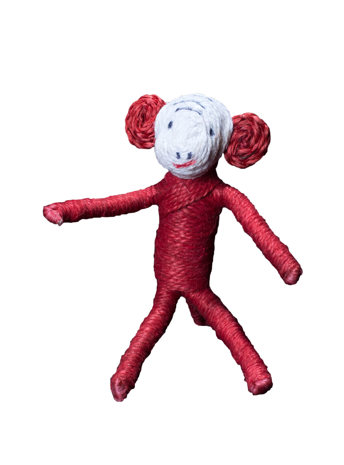 Jute Monkey Toy