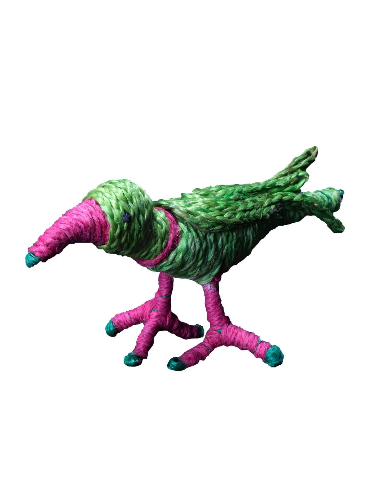 Jute Parrot Toy