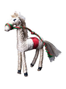 Jute Horse Toy