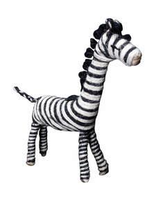 Jute Zebra Toy